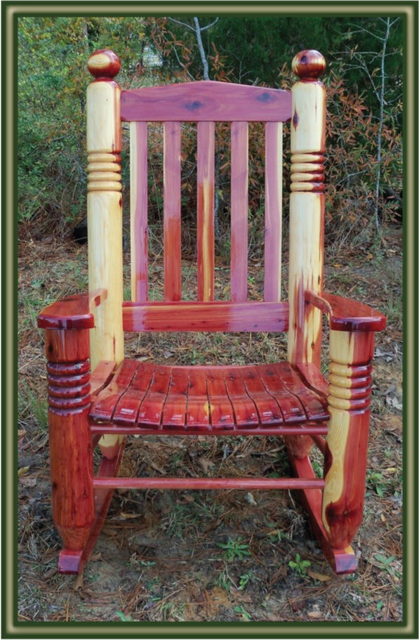 cedar rocking chair plans