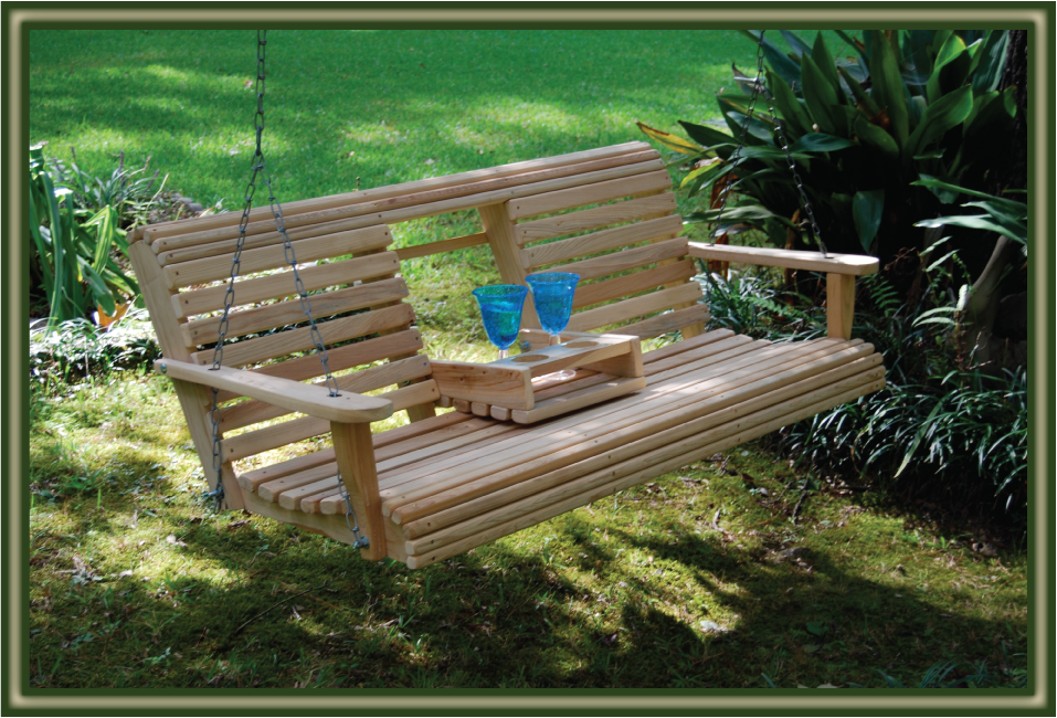 CONSOLE Porch Swings - Porch Swings - Patio Swings - Outdoor Swings