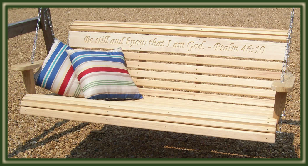 Cypress Moon Rollback Porch Swing ?