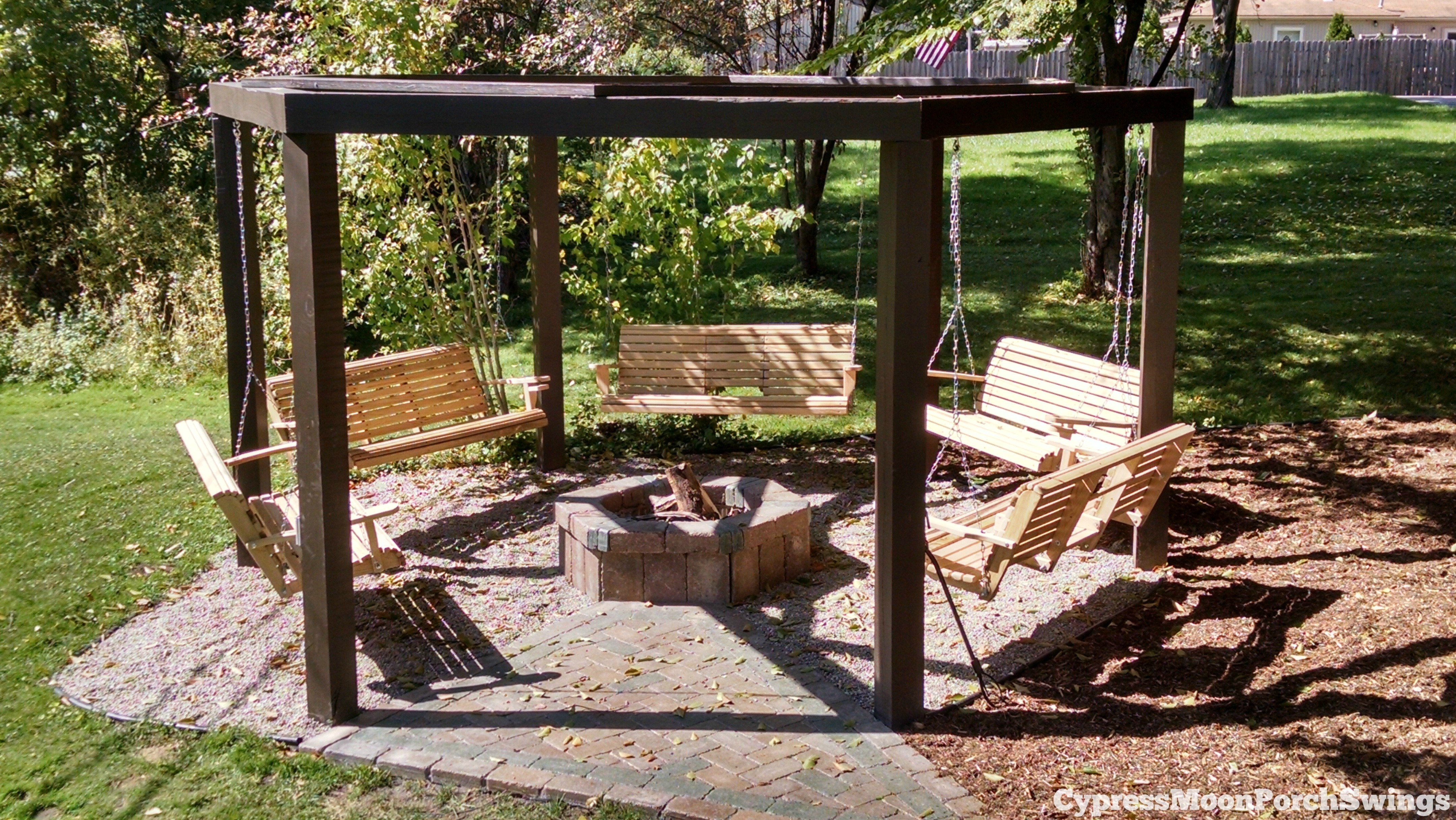 Outdoor%2BSwing%2BCircle Top Result 50 Awesome Backyard Creations Fire Pit Picture 2018 Ojr7