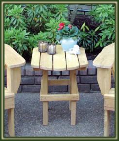 Shelltop Patio Table