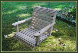 ROLLBACK Porch Swings
