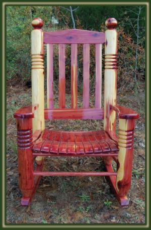 Big Ben Cedar Rocking Chair Porch Swings Patio Swings